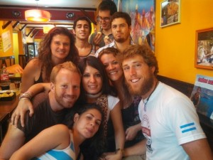 New friends from the hostel!