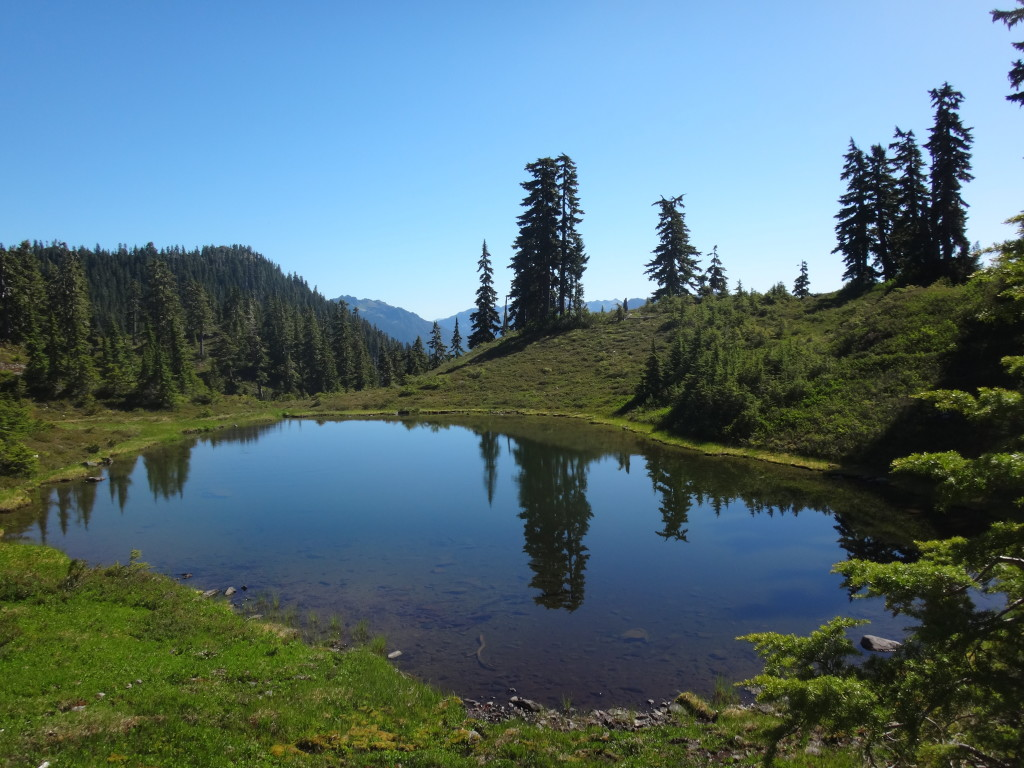 tarns like this all over the place!