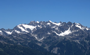 My first view of Mount Olympus, Queen of the Olympics.  I must have her.... Photo by Luke Distelhorst